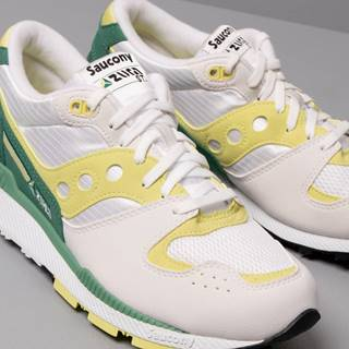 Saucony Azura White/ Green/ Lime